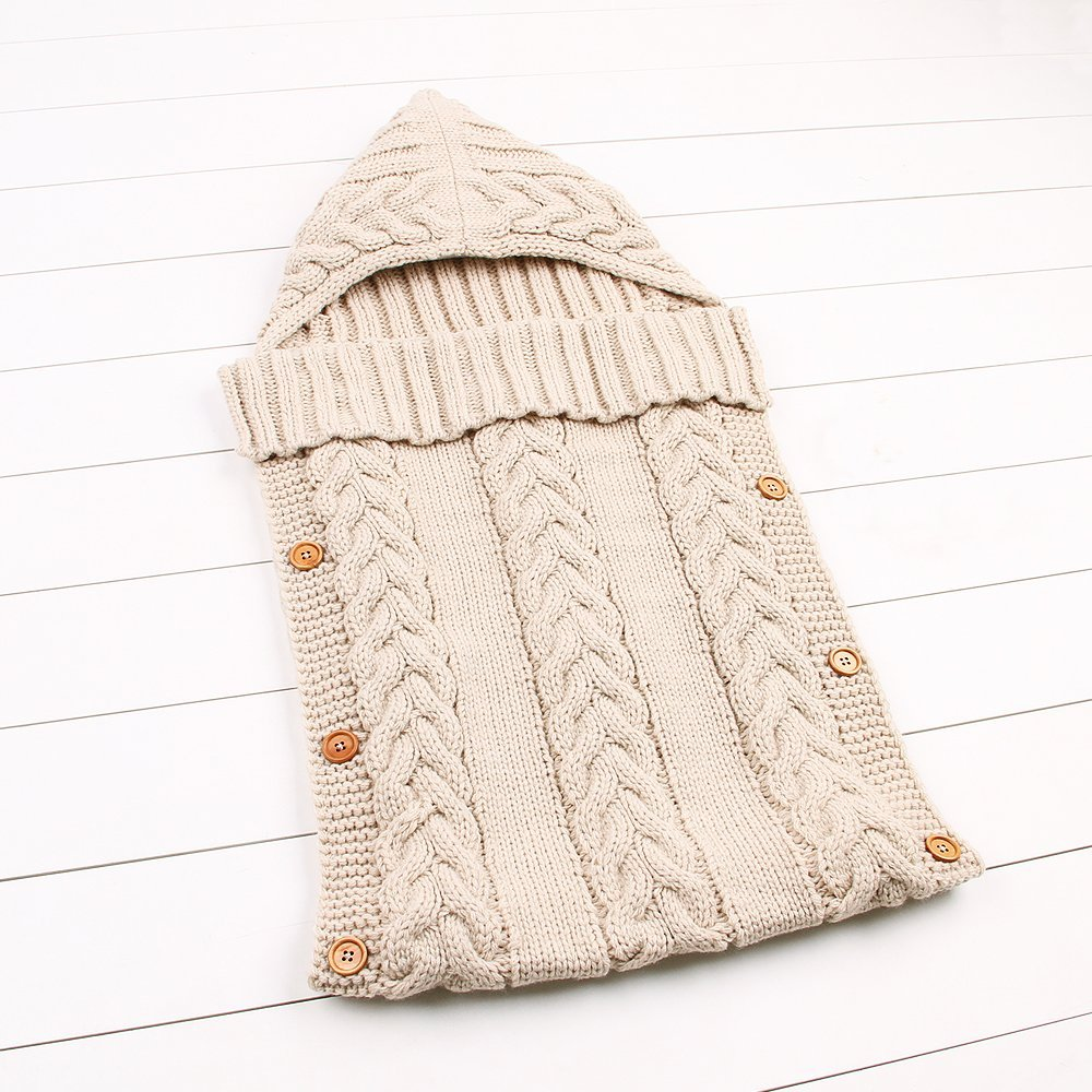 ad20ae5c Sovepose-baby-strikket-beige - handel123.no